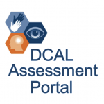 DCAL Logo plus the text DCAL Assessment Portal